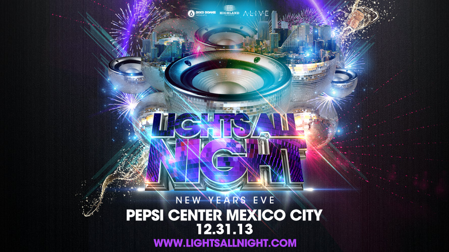 blog announcing a lights all night festival in mexico city