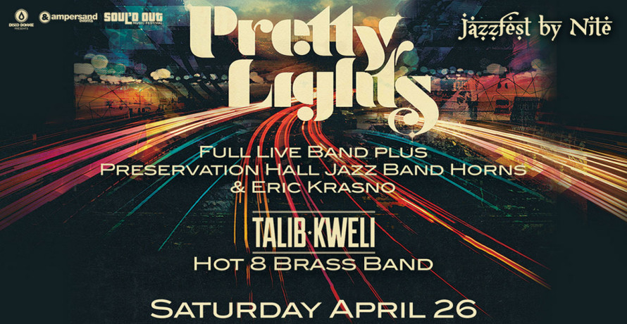 blog talib kweli joins pretty lights for jazzfest by nite in new orleans