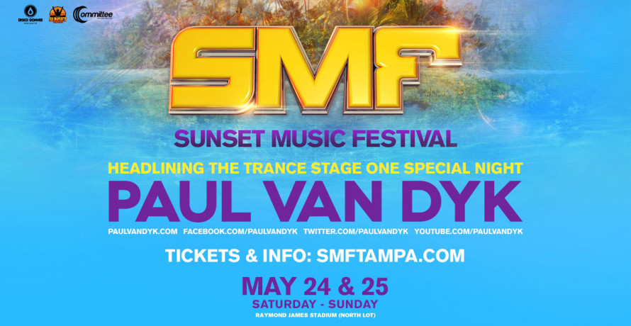 blog paul van dyk to headline trance stage at sunset music festival