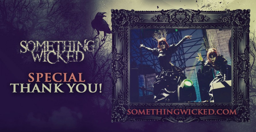 blog we're sending a special thank you shout-out to the people who made something wicked happen