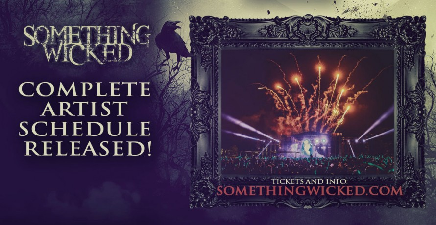 blog presenting your complete something wicked artist schedule